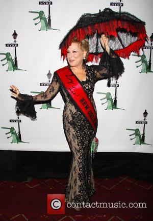 Bette Midler wearing David Dalrymple - Bette Midler's 'Hulaween in The Big Easy' Gala to benefit the New York Restoration...