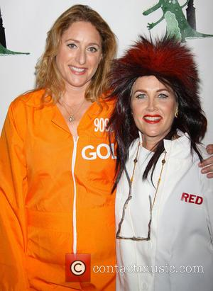Judy Gold and Elysa Halpern - Bette Midler's 'Hulaween in The Big Easy' Gala to benefit the New York Restoration...