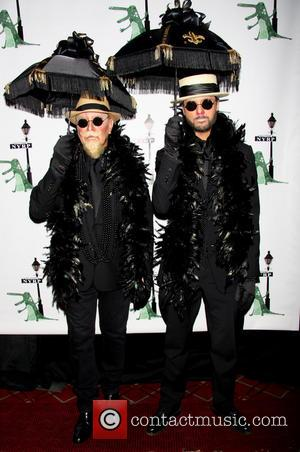 Michael Kors and Lance LePere - Bette Midler's 'Hulaween in The Big Easy' Gala to benefit the New York Restoration...