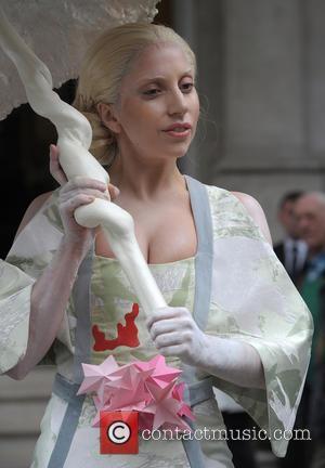 Lady Gaga - Lady Gaga leaves her hotel on Halloween...