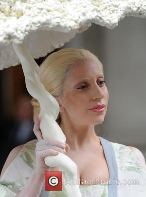 Lady Gaga - Lady Gaga seen leaving her hotel under...