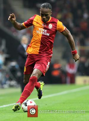 Didier Drogba - Turkey Super League match between Galatasaray and Konyaspor at the Turk Telekom Arena - Istanbul, Turkey -...