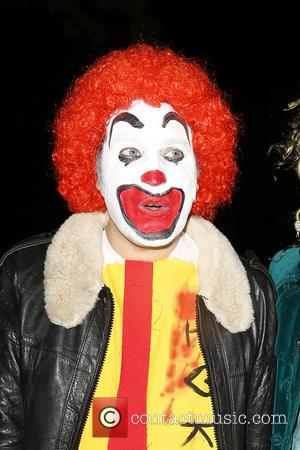 Noel Fielding - Jonathan Ross celebrates Halloween with his yearly party held at his house in Hampstead. Many celebrity guests...