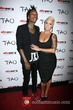 Amber Rose, Tao Nightclub, Wiz Khalifa