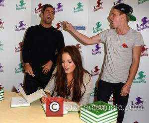 Spencer Matthews, Alexandra Felstead and Jamie Laing - The cast of 'Made In Chelsea' attend a book signing for Tim...