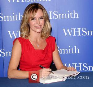 Amanda Holden - Amanda Holden signs copies of her autobiography