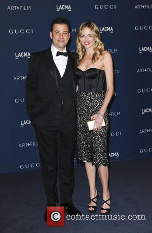 Jimmy Kimmel and Molly McNearney - LACMA 2013 Art and Film Gala - Los Angeles, CA, United States - Saturday...