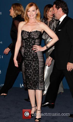 Marg Helgenberger - LACMA 2013 Art and Film Gala honoring David Hockney and Martin Scorsese - Arrivals - Los Angeles,...