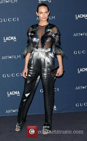 Amber Valletta - LACMA 2013 Art and Film Gala honoring David Hockney and Martin Scorsese - Arrivals - Los Angeles,...