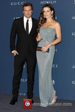 Len Wiseman and Kate Beckinsale - LACMA 2013 Art and Film Gala honoring David Hockney and Martin Scorsese - Arrivals...