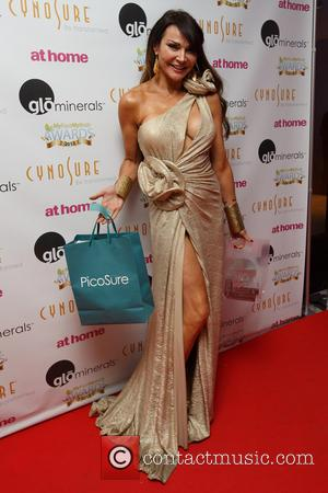 Lizzie Cundy - TV stars attends the 'My Face My Body' beauty awards 2013 at The Lancaster London Hotel, Lancaster...