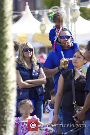 Heidi Klum, Lou Samuel and Martin Kristen