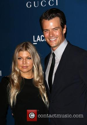 Fergie and Josh Duhamel - LACMA 2013 Art and Film Gala Honoring Martin Scorsese And David Hockney Presented By Gucci...