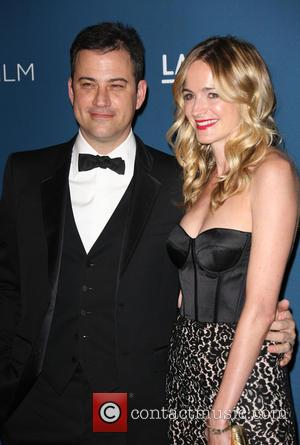 Jimmy Kimmel and Molly McNearney - LACMA 2013 Art and Film Gala Honoring Martin Scorsese And David Hockney Presented By...