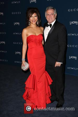 Julie Chen and Leslie Moonves - LACMA 2013 Art and Film Gala Honoring Martin Scorsese And David Hockney Presented By...