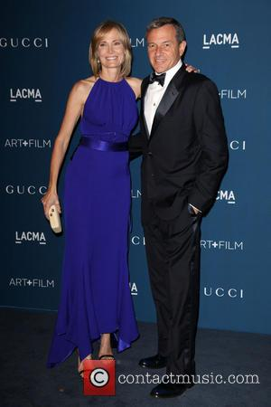 Willow Bay and Bob Iger - LACMA 2013 Art and Film Gala Honoring Martin Scorsese And David Hockney Presented By...