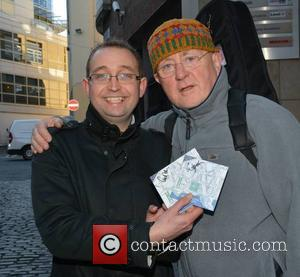 Matt Cardle, Christy Moore & Fan Keith Johnson and Jake Bugg