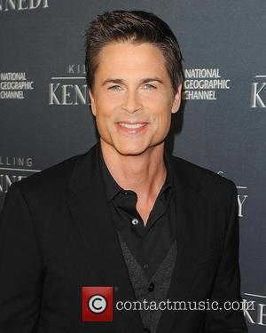 Rob Lowe - Premiere of National Geographic Channel's highly anticipated Killing Kennedy, with a star-studded red carpet at The Saban...