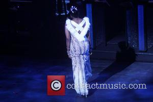 Fantasia Barrino - Opening night curtain call for the Broadway musical After Midnight at the Brooks Atkinson Theatre. - New...