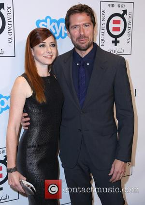 Alyson Hannigan and Alexis Denisof - Equality Now presents 'Make Equality Reality' event at Montage Hotel - Arrivals - Los...