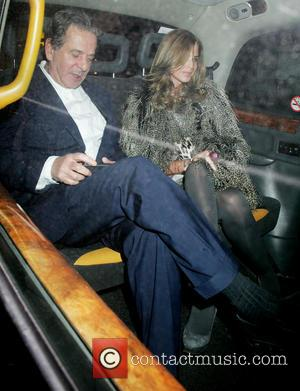 Charles Saatchi and Trinny Woodall - Charles Saatchi and Trinny Woodall out together at Scotts where they met up with...
