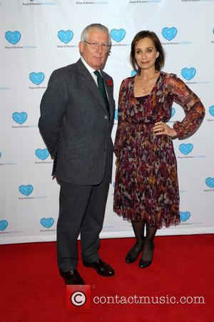 Nick Hewer and Kirstin Scott Thomas - U.K. film premiere of 'Finding Family' to benefit Hope and Homes for Children...