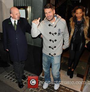 Shane Lynch and Sheena White - Boy band Boyzone leaving The Ivy restaurant - London, United Kingdom - Tuesday 5th...
