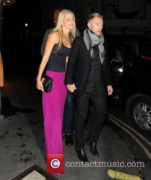 Storm Uechtritz and Ronan Keating