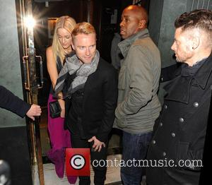Storm Uechtritz, Ronan Keating and Keith Duffy