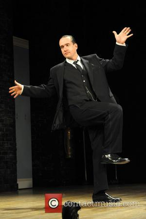Stephen Mangan and Matthew Macfadyen - Jeeves and Wooster in 'Perfect Nonsense' stage photocall at the Duke of York's Theatre...