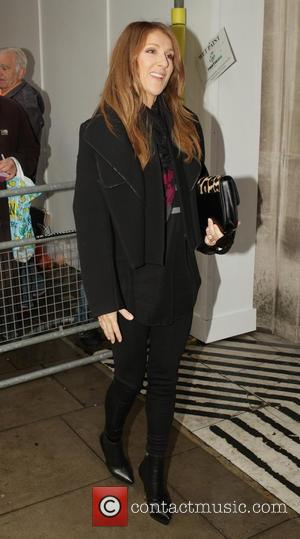 Celine Dion - Celebrities at the BBC Radio 1 studios - London, United Kingdom - Tuesday 5th November 2013