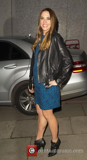 Melanie Chisholm and Mel C - Melanie Chisholm, Mel C leaving the ITV studios after filming 'The Jonathan Ross Show'...