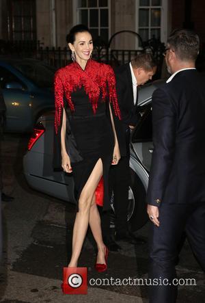 L'Wren Scott - Harper's Bazaar Women of the Year Awards 2013 held at Claridge's - Arrivals - London, United Kingdom...