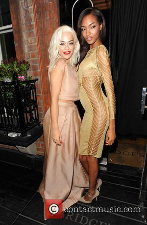 Rita Ora and Jourdan Dunn