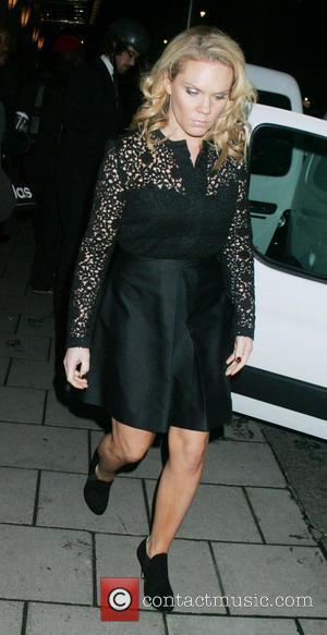 Louise Adams - Harper's Bazaar Women of the Year Awards held at Claridge's - Departures - London, United Kingdom -...
