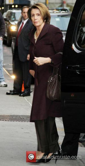 Nancy Pelosi - Celebrities outside the Ed Sullivan Theater for 'The Late Show with David Letterman' - New York City,...