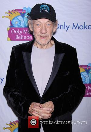 Sir Ian Mckellen Stripped Down To His Underwear At Charity Event