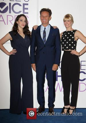 Kat Dennings, Mark Burnett and Beth Behrs - People's Choice Awards 2014 Nominations Press Conference at  The Paley Center...