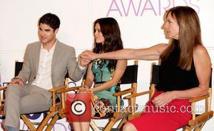 Darren Criss, Rachel Bilson and Allison Janney