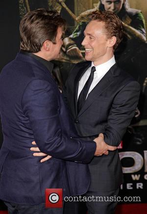 Nathan Fillion and Tom Hiddleston