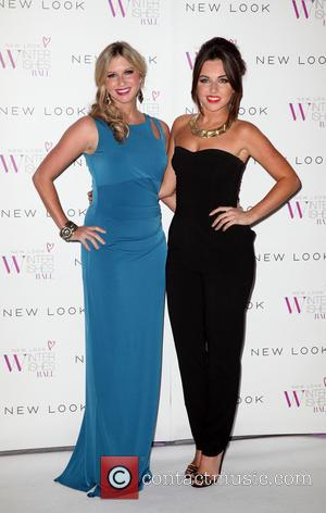 Brooke Kinsella and Louisa Lytton - New Look Winter Wishes Charity Ball held at Evolution Battersea - Arrivals - London,...