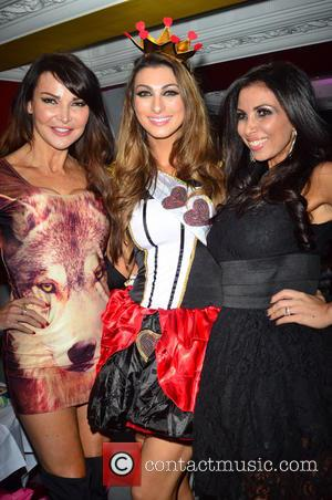 Lizzie Cundy, Luisa Zissman and Francine Lewis