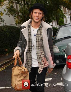 Dougie Poynter - Guests arrive to record an episode of Celebrity Juice - London, United Kingdom - Wednesday 6th November...