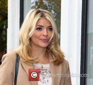 Holly Willoughby - Celebrities arrive at the Riverside Studios for 'Celebrity Juice' - London, United Kingdom - Wednesday 6th November...