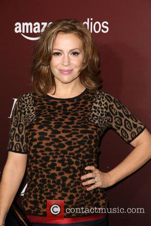 Alyssa Milano - Celebrities attend The Hollywood Reporter's Next Gen 20th Anniversary Gala at Hammer Museum Courtyard in Westwood. -...