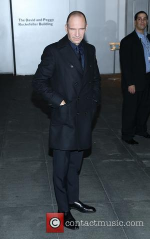 Ralph Fiennes - the Museum of Modern Art 2013 Film benefit - A Tribute To Tilda Swinton on November 5,...