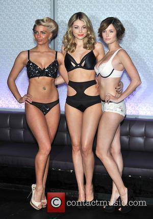 Amy Levick, Georgia Horsley and Rose Killin - The UK Lingerie Awards 2013 Photo Call held at Aura, St James's...