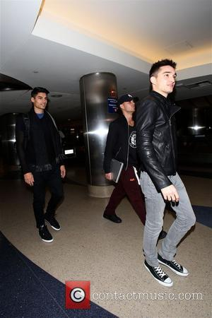 The Wanted - The Wanted arrive in Los Angeles at LAX to adoring and screaming fans as The Wanted loses...