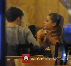 Ariana Grande and Nathan Sykes - Ariana Grande and Nathan Sykes out on a dinner date at the vegeterian...