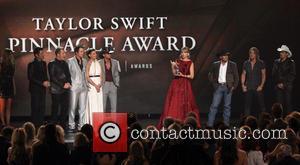 Rascal Flatts, Faith Hill, Tim McGraw, George Strait, Keith Urban, Brad Paisley and Taylor Swift